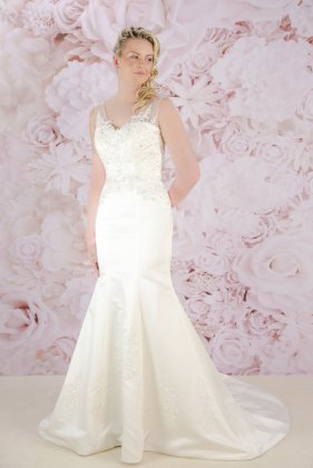 Bliss wedding dress - front
