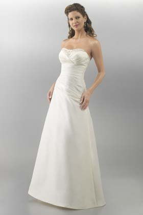 Maria wedding dress for hire front